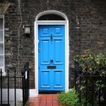 blue-wooden-door